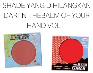 Perbedaan In theBalm of Your Hand Vol I dan Vol II (1)